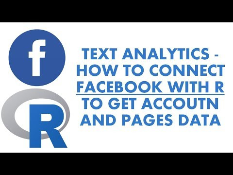 Text Analytics With R | How To Connect Facebook With R | Analyzing Facebook In R