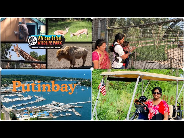 Kids Fun Vlog | African Wlid Safari | Putin Bay | Telugu Vlogs In US