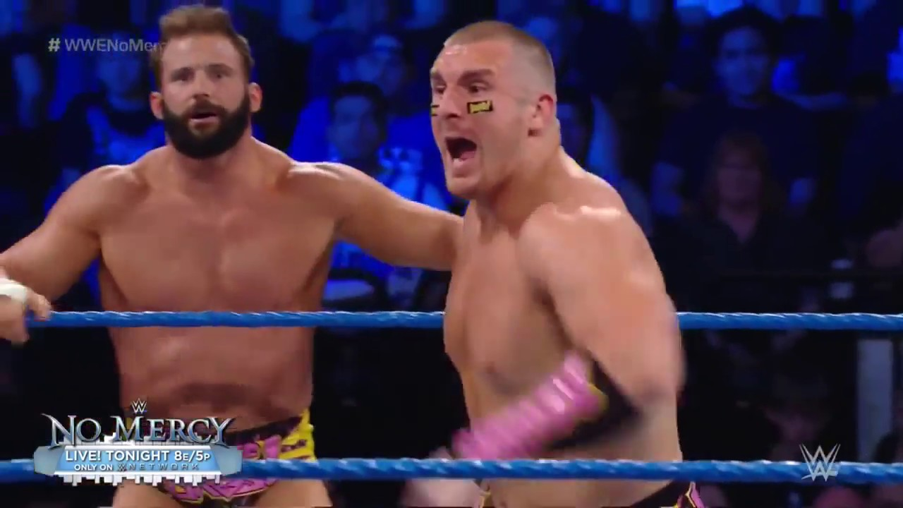 FULL MATCH: Hype Bros & American Alpha vs. Ascension & Vaudevillains - WWE No Mercy 2016 Kickoff