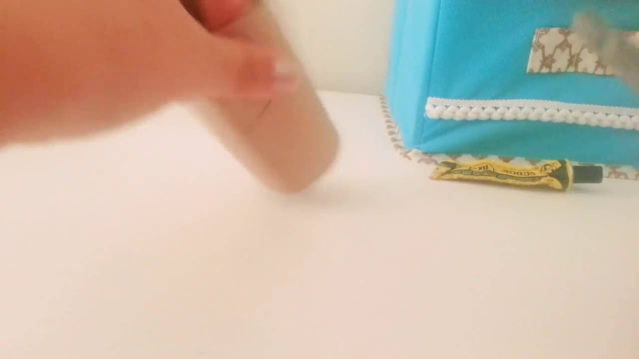 Kağıt Havlu Rulosundan Dekoratif Süs Yapımı