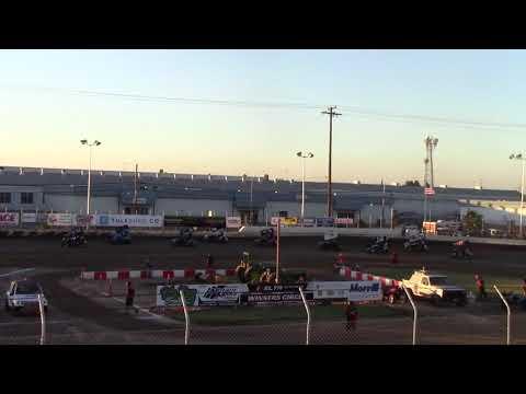 CA Speedweek, Delta Speedway - Micro 600R Heat Race (Carson Borden) - June 27, 2018
