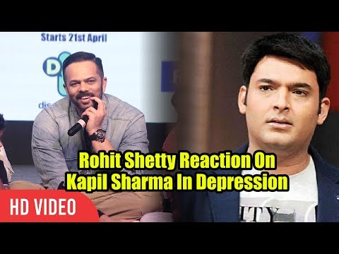Rohit Shetty Reaction On Kapil Sharma In Depression | Viralbollywood