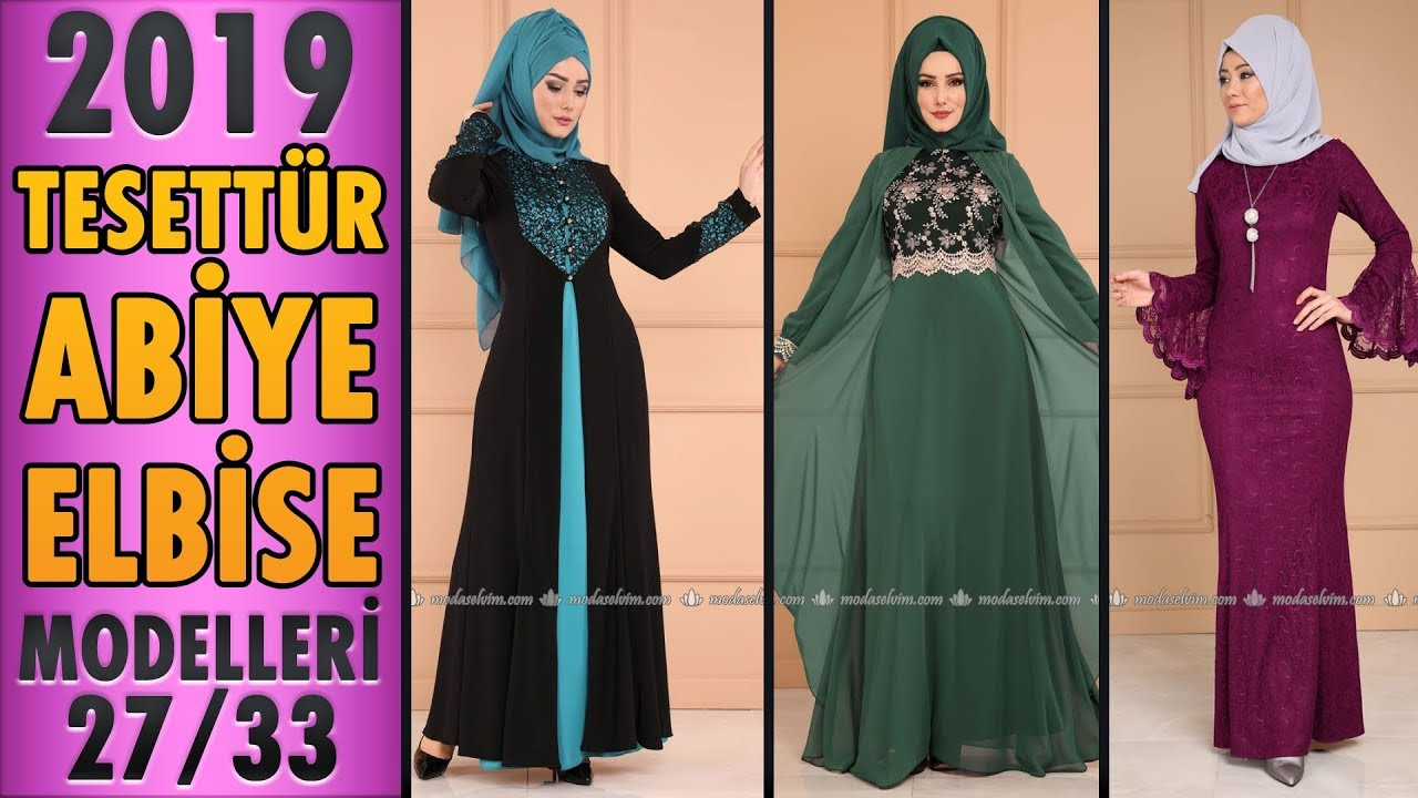 42cb416e28a3b #Modaselvim 2019 Tesettür Abiye Modelleri 27/33 | #Hijab Evening Dress |  #tesettür #abiye #dress