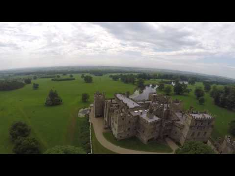 Raby Castle Aerial