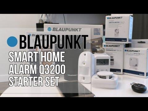 blaupunkt smart home alarm q3200 starter set youtube. Black Bedroom Furniture Sets. Home Design Ideas