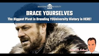 😬 Brace Yourselves: The Biggest Pivot in Branding YOUniversity History is HERE!