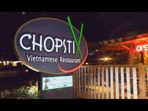 Best Vietnamese Food in Monterey - Chopstix!  (HD) Movie