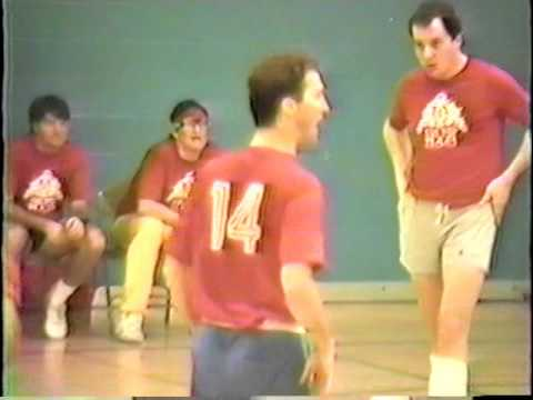 Trump Castle vs Trump Plaza 1988 Basketball pt 3