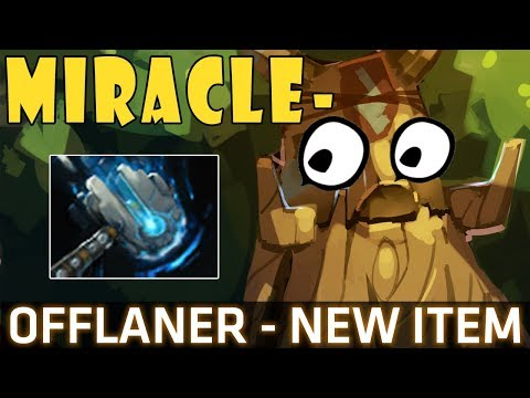 Dota 2 7.07b - Miracle- Treant Protector Offlaner with Meteor Hammer