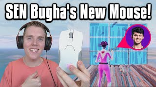 Trying Bugha's *NEW* Mouse In Arena! - Fortnite Battle Royale
