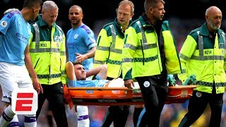 Aymeric Laporte injury 'shouldn't be a problem' for Manchester City - Craig Burley | Premier League