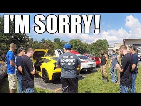 Honda Civic REVS at a Car Show... So I Did This. LOL