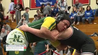 Williams-Ryan 220-pound ECC wrestling final
