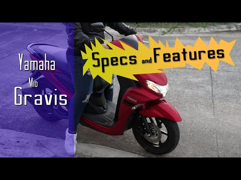 Yamaha Mio Gravis 2020 | Specifications And Features | Matte Red