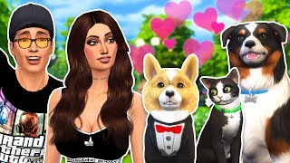 The Sims 4 - CREATING OUR PETS!! SIMS 4 Cats & Dogs, Episode 3! (Sims 4 Gameplay)