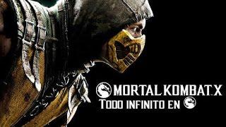 Todo infinito Mortal Kombat X
