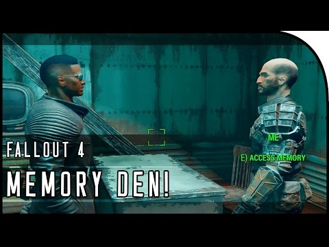 "Fallout 4 Gameplay Walkthrough Part 24 – ""MEMORY DEN, KELLOGG'S MEMORIES, GOODNEIGHBOR!"""