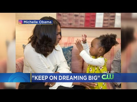 Michelle Obama Dances With Her Biggest Fan 2-Year-Old Parker Curry