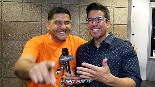 "ANGEL GARCIA ""40 IS NOT OLD! THURMAN AINT NO KILLER! MANNY WILL PULL IT OFF!"""