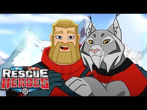Rescue Heroes™ - Learning To Make Friends | Episode 13 | Kids Videos | Kids Heroes | Cartoon Heroes