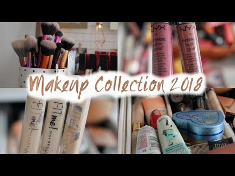 Makeup collection 2018 Alex 9 drawer tour!// Emmie Alice