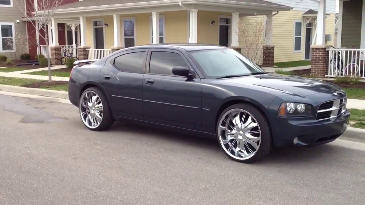 07 Dodge Charger Rt On 24 S Youtube