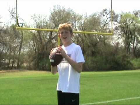 Parker Towns, 10 year old QB Johnny McEntee Imitation Trick Shot Video (part 1)