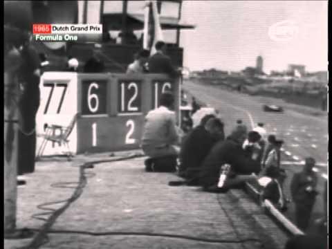 Formula 1 1965 Dutch Grand Prix Highlights (ESPN Classic)