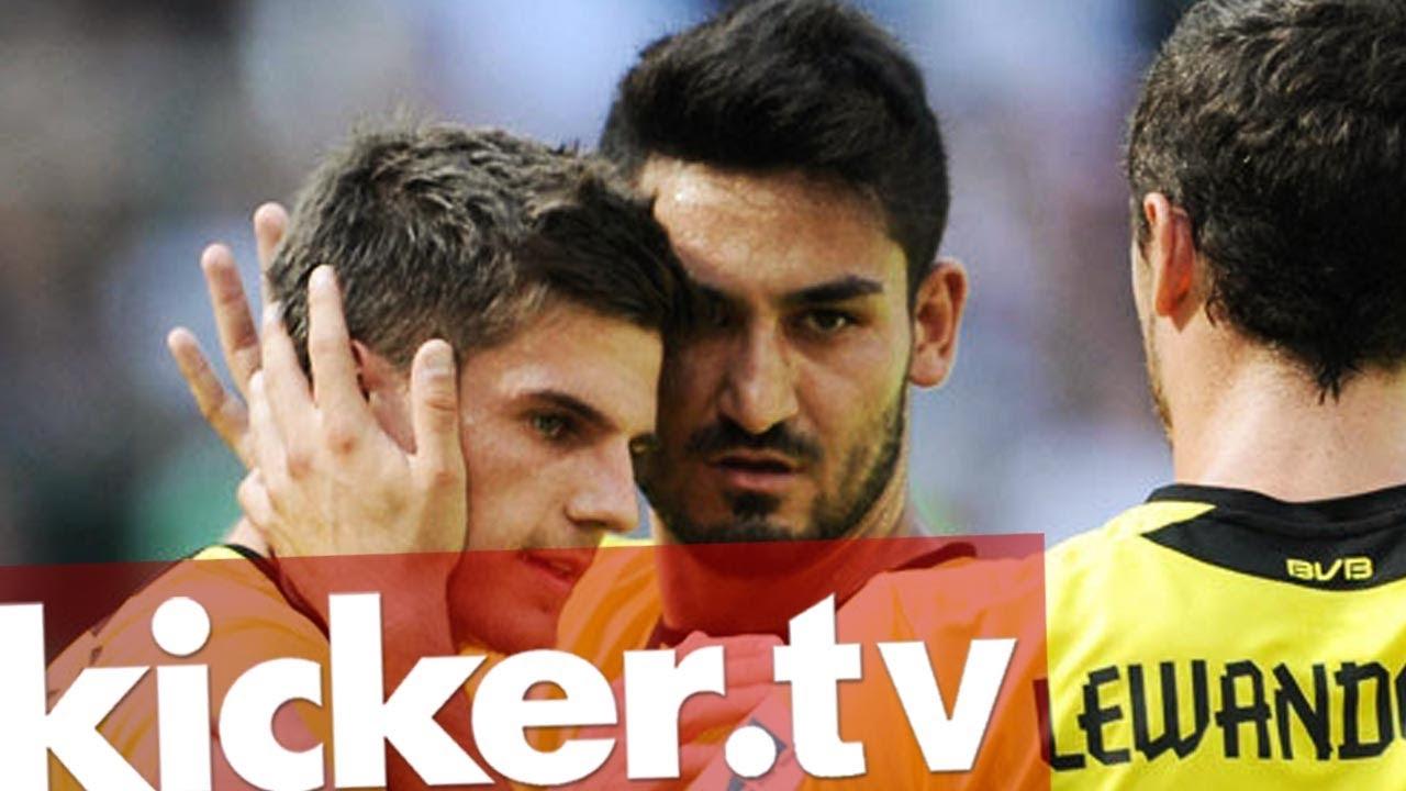 Telekom-Cup - BVB siegt im kleinen Finale gegen den HSV - kicker.tv