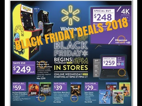 WALMART BLACK FRIDAY AD 2018 - Finally Its Here!!!!