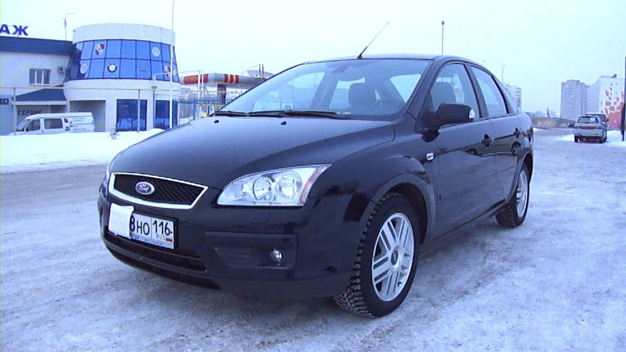 2007 ford focus ii start up engine and in depth tour youtube. Black Bedroom Furniture Sets. Home Design Ideas