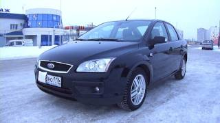 2007 Ford Focus II. Start Up, Engine, and In Depth Tour.