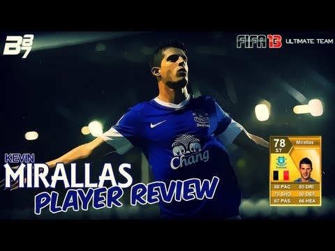 FIFA 13 Ultimate Team | Player Review | EP02 Kevin Mirallas