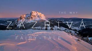 The Way Fairy-tale Zázrivá Full HD timelapse Slovakia