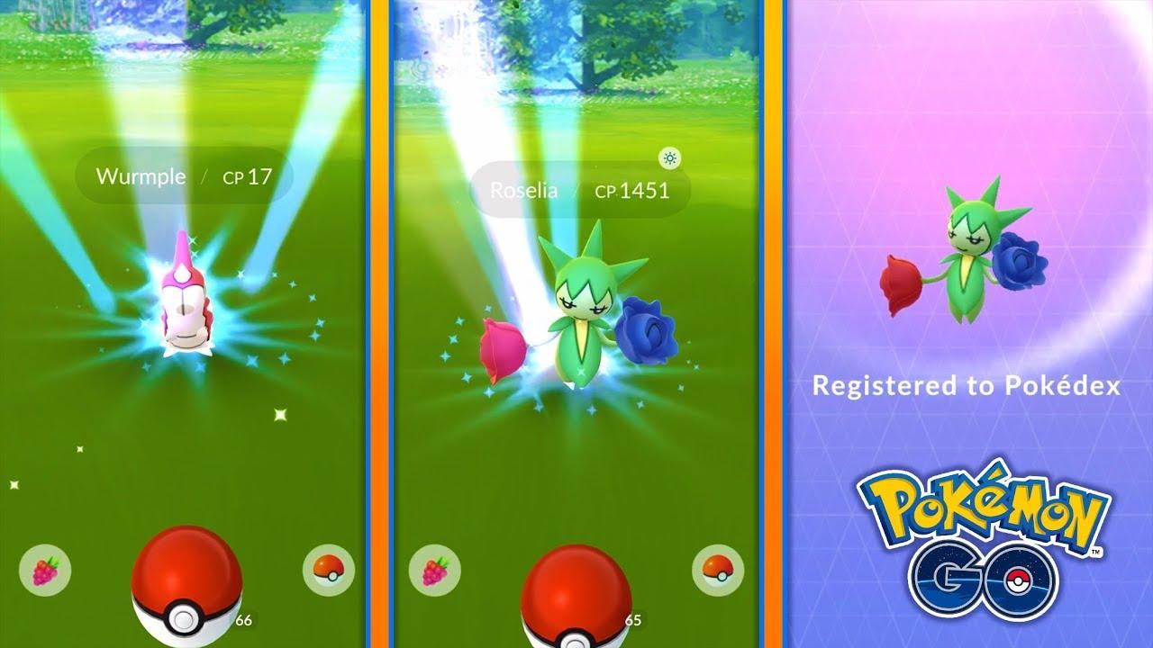 generation 3 released in pokemon go wild roselia