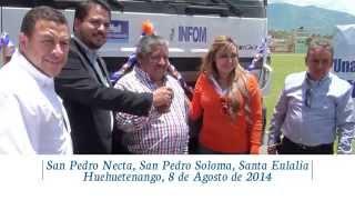 Entrega de Camiones de Volteo en Huehuetenango