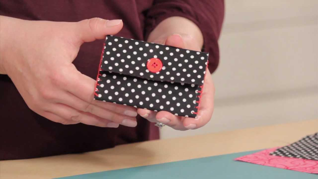 Creativity Made Simple With Joann How To Make An Easy No Sew Card Case You