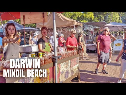 Darwin Australia (Mindil Beach Market) Walking Tour【2019】