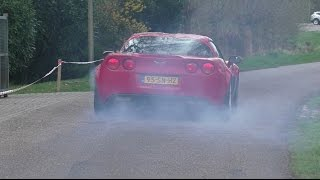Muscle cars & Supercars Leaving Hammink Performance   Burnouts   Loud Accelerations