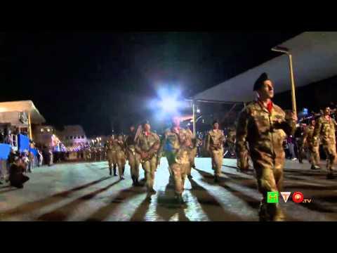 69a Festa della Repubblica - Prove in notturna per la Parata Militare del 2 Giugno - www.HTO.tv
