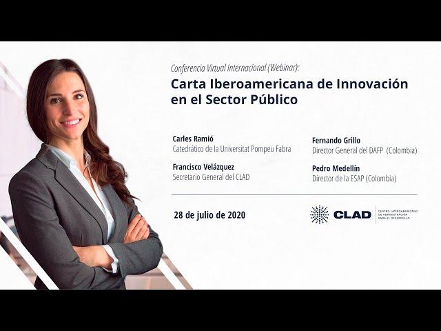 #WebinarCLAD Carta Iberoamericana de Innovación en el Sector Público