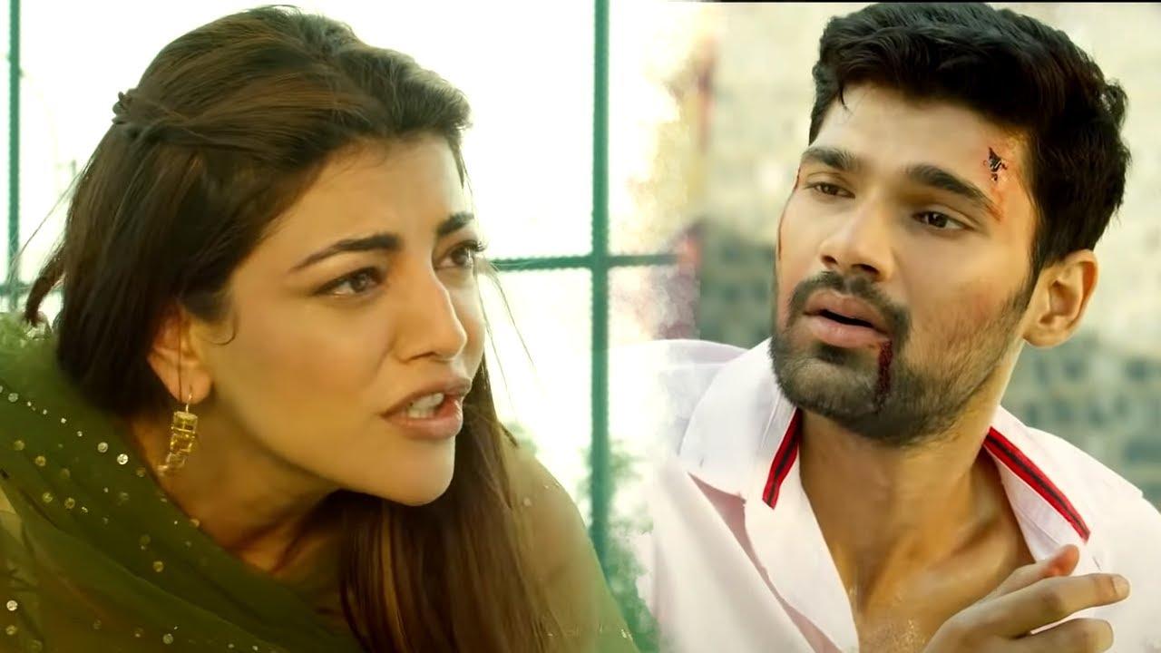 Bellamkonda Srinivas को गुंडों से बचाने के लिए देखिये Kajal Agarwal ने क्या किया | Best Action Scene