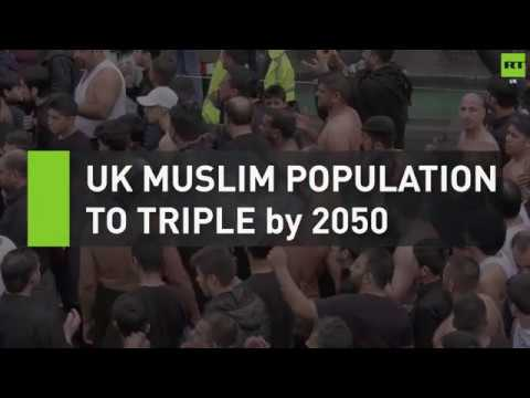 UK Muslim population to triple by 2050