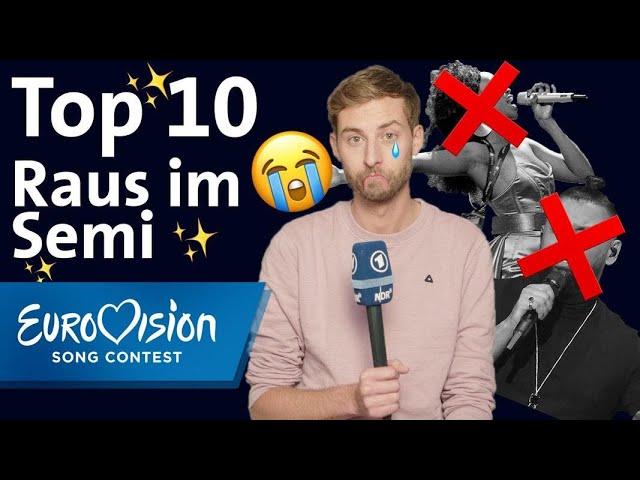 ESC Raus im Semifinale: Die Top 10 von Consi | Eurovision Song Contest | NDR