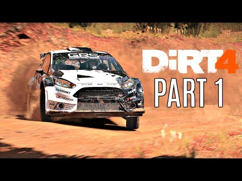 Dirt 4 Career Mode Walkthrough Part 1 - Intro & First Rally (PS4 Pro Gameplay HD)