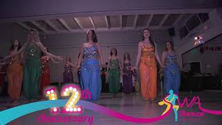 Belly dance choreography @ SWA 12th Anniversary