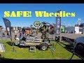 How To Wheelie on a Training Ramp - Yamaha 700cc & 990cc