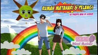 MAKASIH 2Jt 💕 RUMAH MATAHARI dan PELANGI INDAH SAKURA SCHOOL SIMULATOR INDONESIA screenshot 5