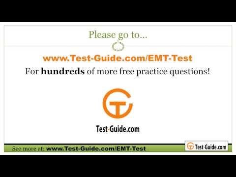 Emt Exam Practice Test