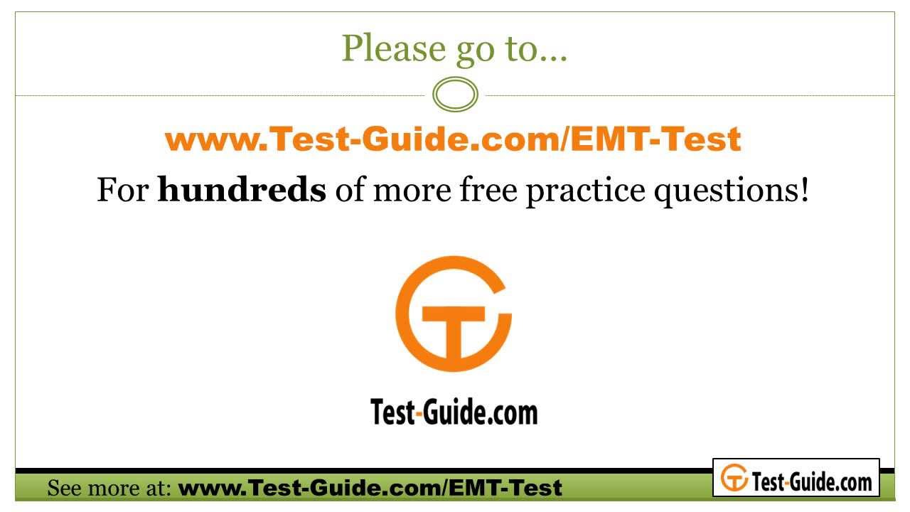 emt exam practice test sample questions from the emt test youtube rh youtube com Paramedic Training EMT Paramedic